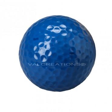 Balle bleue de minigolf