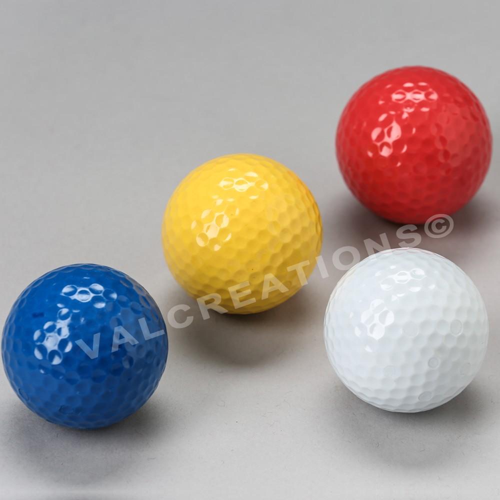 Balle spéciale pour minigolf