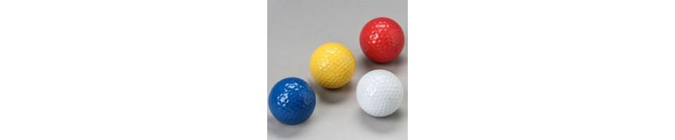 Balles de minigolf à faible rebond
