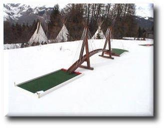 parcours golf miniature en location