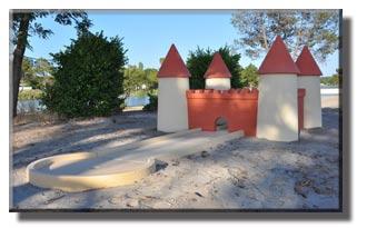 parcours golf miniature château
